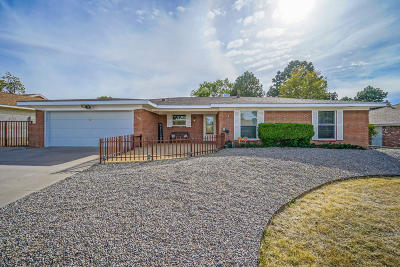 Single Family Home For Sale: 7608 Vista Del Arroyo Avenue NE