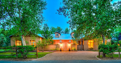Los Ranchos Single Family Home For Sale: 970 Bonita Rosas Road