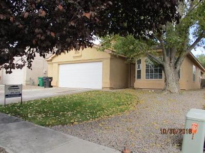 Rio Rancho Single Family Home For Sale: 715 Pinon Meadows Drive NE