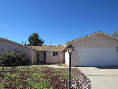 Sandoval County Single Family Home For Sale: 3906 El Dedo Court SE
