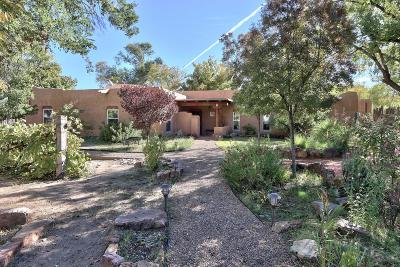Single Family Home For Sale: 6038 Corrales Road