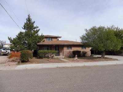Belen Single Family Home For Sale: 812 Torres Drive
