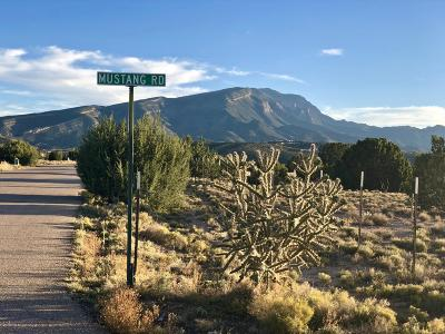 Placitas Residential Lots & Land For Sale: Mustang Road #Lot 7