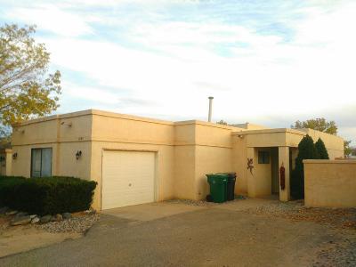 Rio Rancho Single Family Home For Sale: 1860 Peach Road NE