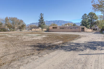 Albuquerque Single Family Home For Sale: 9832 4th Street NW