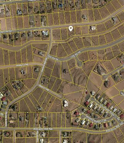 Rio Rancho NM Residential Lots & Land For Sale: $55,000