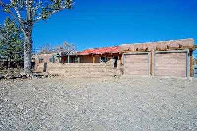 Corrales Single Family Home For Sale: 10637 Calle De Elena NW