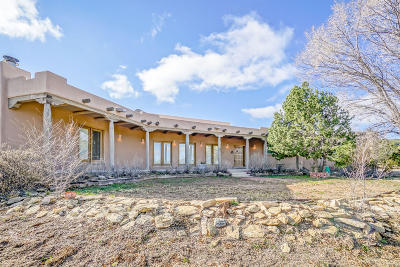 Tijeras Single Family Home For Sale