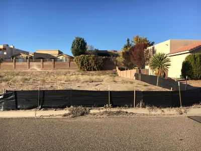 Rio Rancho NM Residential Lots & Land For Sale: $69,500