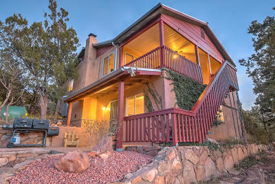 Sandia Park Single Family Home For Sale: 3 Skyview Drive