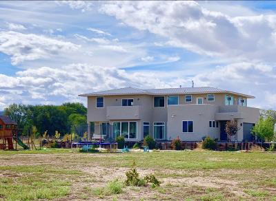 Los Lunas Single Family Home For Sale: 2109 Highway 314 NW