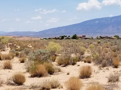 Rio Rancho NM Residential Lots & Land For Sale: $49,500