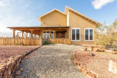 Rio Rancho Single Family Home For Sale: 1925 Sonora Road NE
