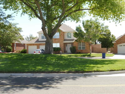 Valencia County Single Family Home For Sale: 1512 Los Cerritos Road NW