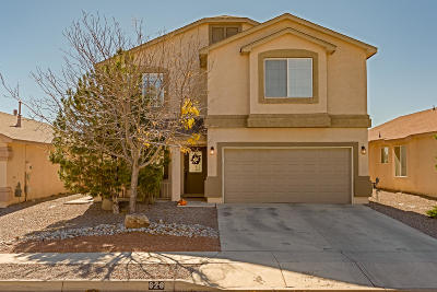 Rio Rancho Single Family Home For Sale: 628 Peaceful Meadows Drive NE