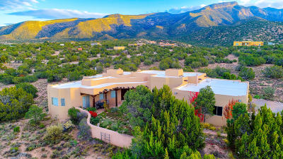 Placitas, Bernalillo Single Family Home For Sale: 51 Quail Meadow Road