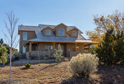 Sandia Park Single Family Home For Sale: 21 Moccasin Trail