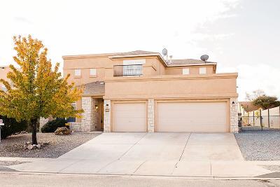 Rio Rancho Single Family Home For Sale: 4984 Night Hawk Drive NE
