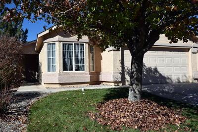 Rio Rancho Single Family Home For Sale: 3821 Tranquil Meadows Drive NE