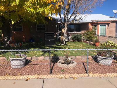 Albuquerque NM Single Family Home For Sale: $155,000