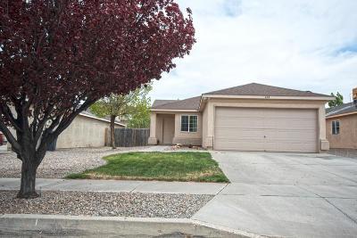 Rio Rancho Single Family Home For Sale: 604 Valley Meadows Drive NE
