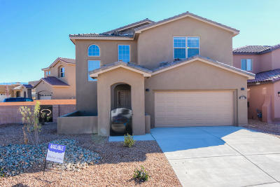 Albuquerque Single Family Home For Sale: 8816 Valle Huerto Lane NW