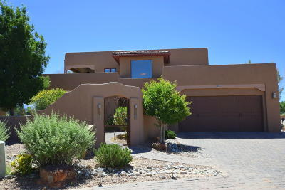 Bernalillo County Single Family Home For Sale: 5820 Mesa Vista Trail NW