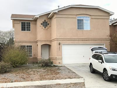 Bernalillo County Single Family Home For Sale: 2431 Red Polard Court NW