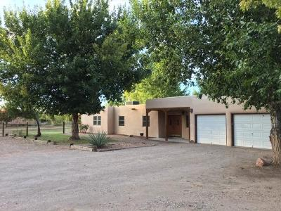 Corrales Single Family Home For Sale: 130 Los Manzanos Road