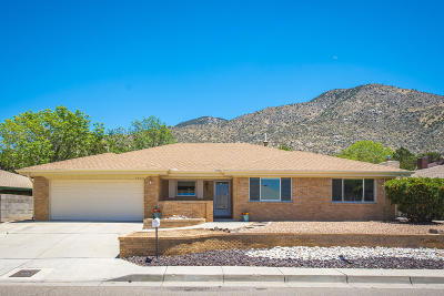 Albuquerque NM Single Family Home For Sale: $297,000
