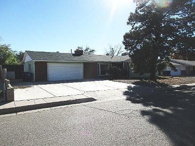 Albuquerque Single Family Home For Sale: 4028 Mescalero Road NE