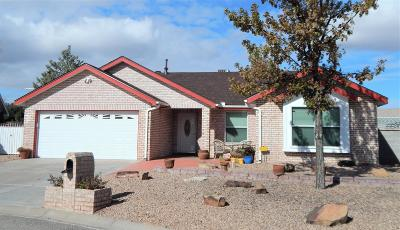 Valencia County Single Family Home For Sale: 3 Marigold Boulevard