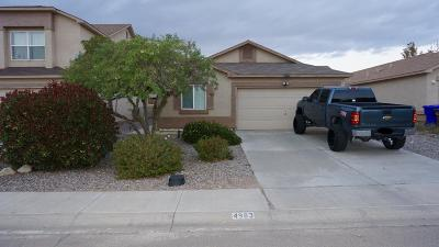 Las Cruces NM Single Family Home For Sale: $135,000