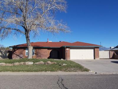 Rio Rancho Single Family Home For Sale: 700 Littler Drive SE