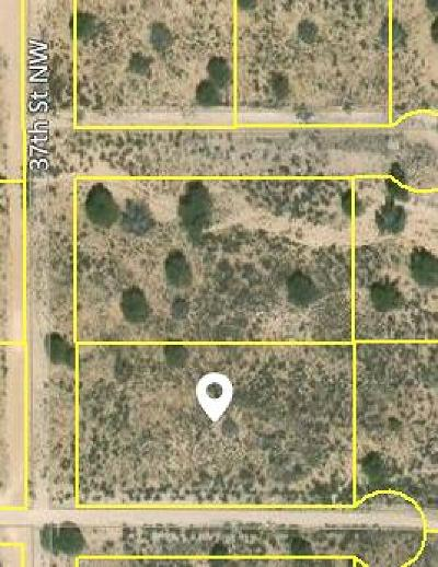 Rio Rancho Residential Lots & Land For Sale: 37th Street NW