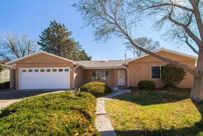 Albuquerque Single Family Home For Sale: 4526 Oahu Drive NE