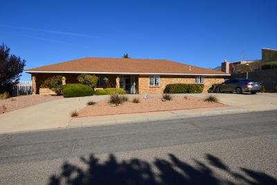 Albuquerque Single Family Home For Sale: 9411 Northridge Drive NE
