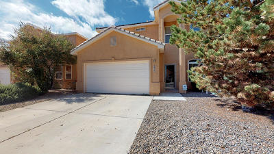 Albuquerque Single Family Home For Sale: 931 Molten Place NW