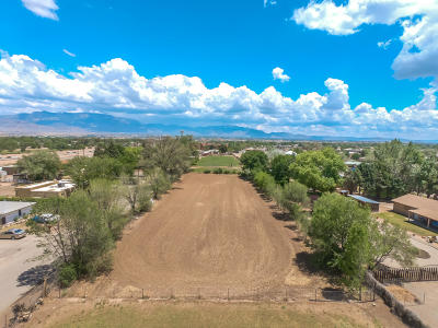 Albuquerque Residential Lots & Land For Sale: 520 Calle Del Pajarito Street NW