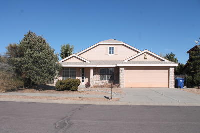 Albuquerque Single Family Home For Sale: 7213 Sacate Alto Court NW