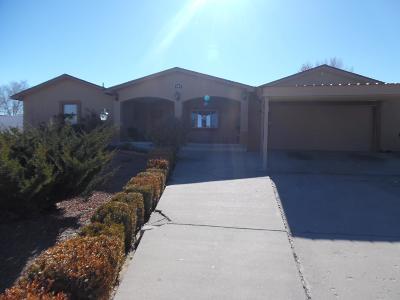 Rio Rancho Single Family Home For Sale: 1140 Sugar Road SE