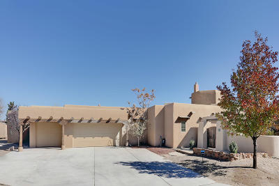 Albuquerque Single Family Home For Sale: 4700 Quaker Heights Place NW