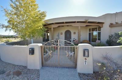 Placitas, Bernalillo Single Family Home For Sale: 1 Buffalo Court