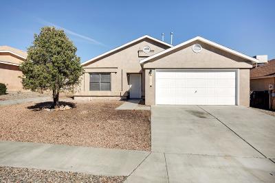 Albuquerque Single Family Home For Sale: 10805 Roan Avenue SW