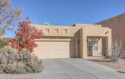 Albuquerque, Rio Rancho Single Family Home For Sale: 3447 Lockerbie Drive