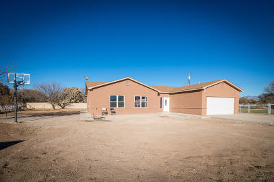 Los Lunas Single Family Home For Sale: 77 El Cerro Loop