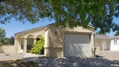 Rio Rancho Single Family Home For Sale: 2292 High Desert Circle NE