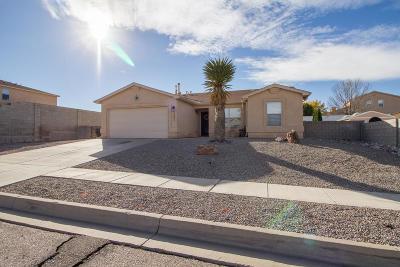Albuquerque, Rio Rancho Single Family Home For Sale: 5001 Sanbusco Drive NE