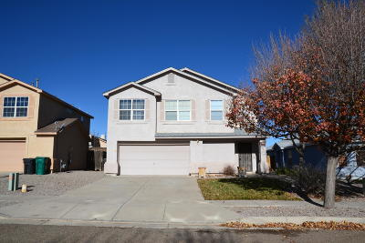 Rio Rancho Single Family Home For Sale: 605 Autumn Meadows Drive NE