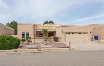 Albuquerque Single Family Home For Sale: 8405 Petaluma Drive NE
